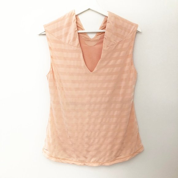 Rare Lululemon Peachy Keen Striped Tank Top Shirt
